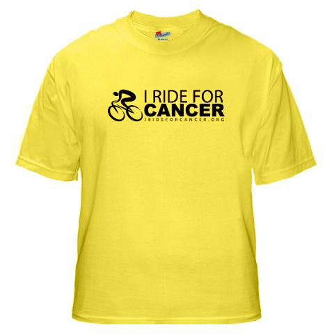 I Ride for Cancer Shirt